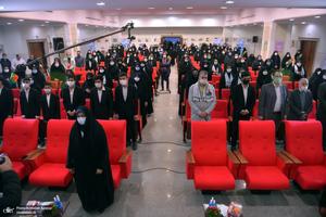 مراسم اهدای 2313 سری جهیزیه در جوار حرم امام خمینی(س)