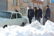 محرومان آسیب دیده از برف اردبیل و گیلان حمایت میشوند