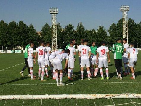 تمرین تیم امید با غیبت یک تیم فوتبال!