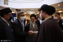 دیدار مهمانان سی و پنجمین کنفرانس وحدت اسلامی با سید حسن خمینی