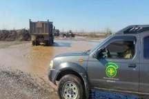 متخلفان تخریب شبانه محیط زیست در رشت دستگیر شدند