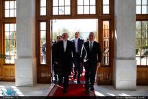 دیدار ظریف با رییس مجلس عالی نخجوان