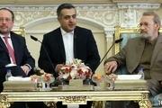 لاریجانی: اتحادیه اروپا درباره توافق هسته ای فقط حرف میزند