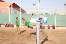 مسابقات فوتوالی قهرمانی ایران در یزد آغاز شد