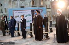 تجدید میثاق رئیس جمهور و اعضای هیأت دولت با آرمانهای حضرت امام (س)