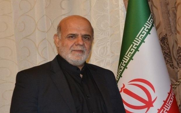 سفیر ایران در بغداد: ایران عراق را به مکانی برای تسویه حسابها تبدیل نکرده است