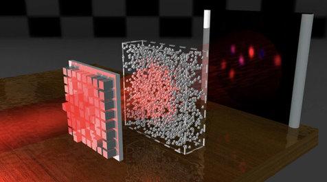 فناوری جدید با تاباندن نور اشیا را نامرئی می کند