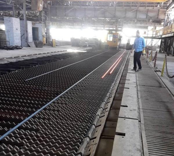 تولید محصول بی نظیر میلگرد سایز بالا در کارخانجات گروه ملی فولاد ایران