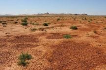 40 هزار هکتار از مساحت گچساران بیابان شد