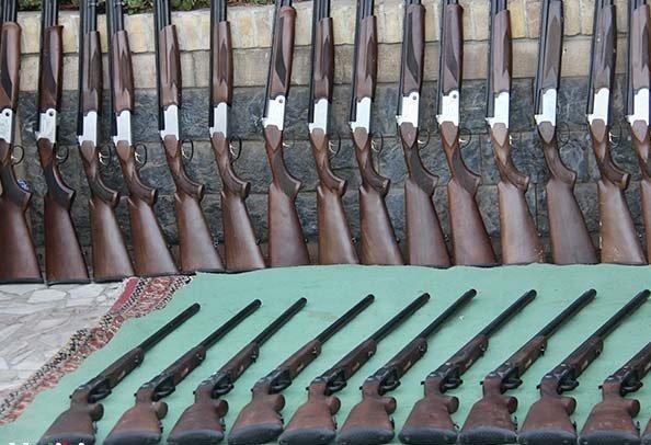 کشف 75 قبضه سلاح غیرمجاز در لرستان