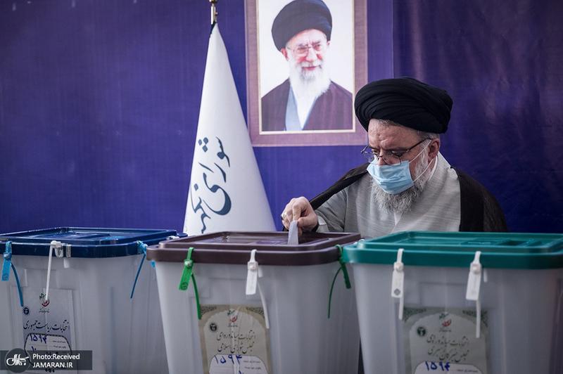حضور مسئولان و شخصیت ها در انتخابات 1400