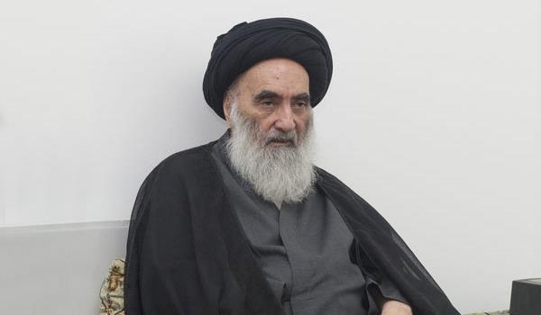 ارسال پیام آیت الله سیستانی به رهبران عراق درباره ایران تکذیب شد