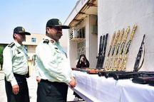 ۲۷۷ قبضه سلاح غیر مجاز در خوزستان کشف شد