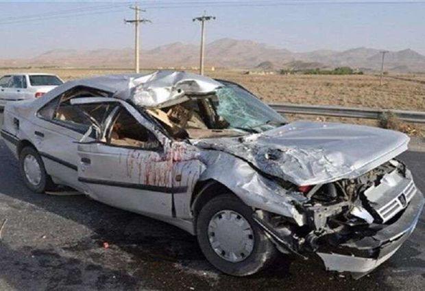 تصادف در تنگستان یک کشته و سه مصدوم داشت