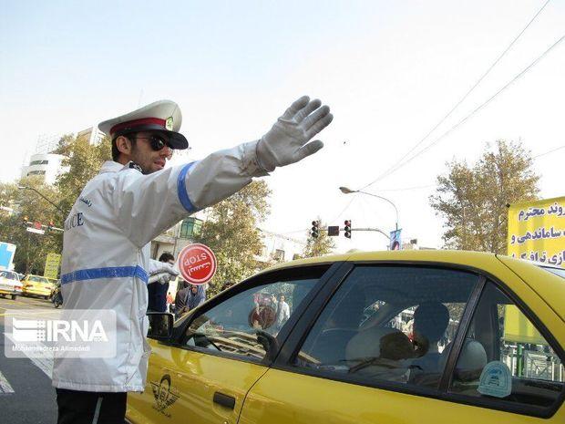 محدودیت ترافیکی از فردا برای خودروهای غیربومی در همدان اعمال میشود