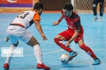ارژن شیراز در لیگ برتر فوتسال مقابل تیم ستارگان ورامین شکست خورد