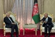 دیدار ظریف با رییس جمهور افغانستان در تاجیکستان در حاشیه کنفرانس «قلب آسیا»