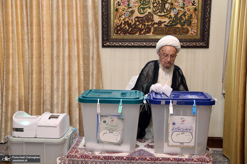حضور مراجع و علما در انتخابات 1400