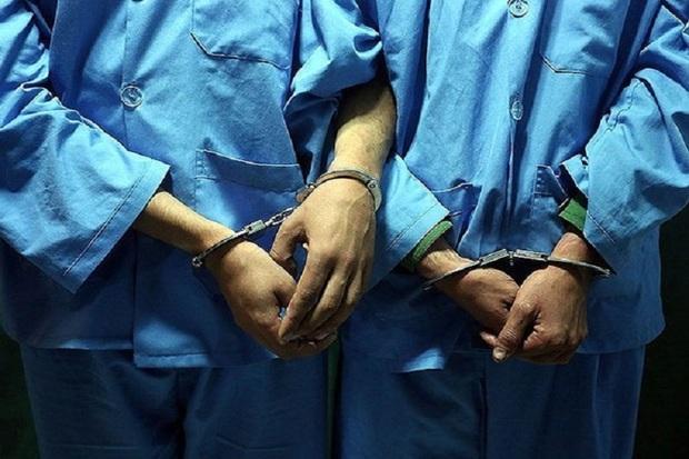 سارقان دریچه های فاضلاب در البرز دستگیر شدند