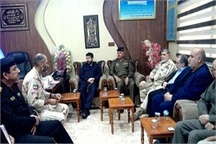 ملاقات مرزی استاندار خوزستان با معاون وزیر کشور عراق