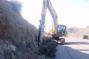 بکارگیری ۲۰ دستگاه ماشین آلات  سنگین بخش خصوصی در مناطق سیلزده لرستان