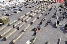 کشف انبارهای بزرگ موشک های اسرائیلی و آمریکایی در حومه دمشق+تصاویر
