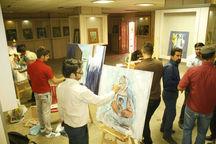 برپایی  ۹ کارگاه تخصصی هنرهای تجسمی در ایلام