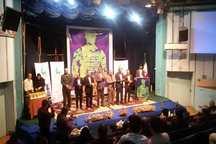 اختتامیه جشنواره بین المللی هنرهای تجسمی در دزفول برگزار شد.