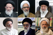 همه مراجع و علمایی که اجتهاد و صلاحیت علمی سید حسن خمینی را برای ورود به خبرگان رهبری تأیید کرده بودند
