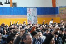 دانشآموزان مشهد یاد شهید سلیمانی را گرامی داشتند