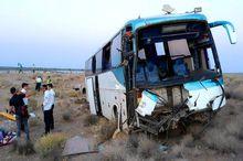 تصادف 2 دستگاه اتوبوس در شیراز