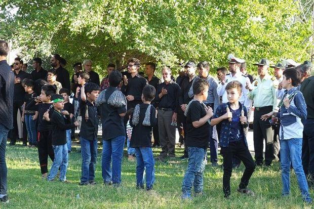 آئین اجتماع هیات های عزاداری حسینی در گچساران برگزار شد