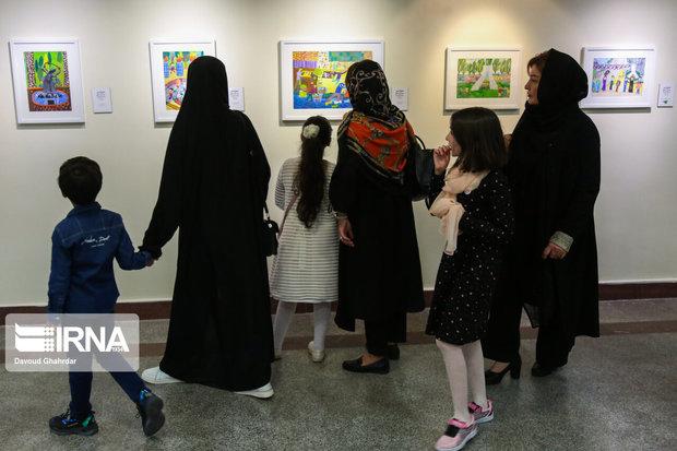 نمایشگاه نقاشی «شهری که من دوست دارم» در پایتخت آغاز شد