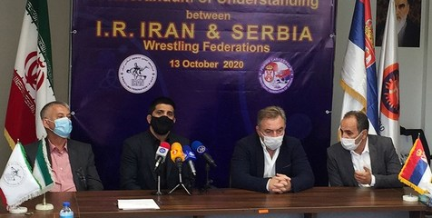 رئیس فدراسیون کشتی صربستان: شانس بزرگی است که از ایران چیزهای زیادی یاد بگیریم