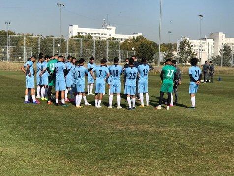 تمرین تیم ملی فوتبال مالی برگزار شد