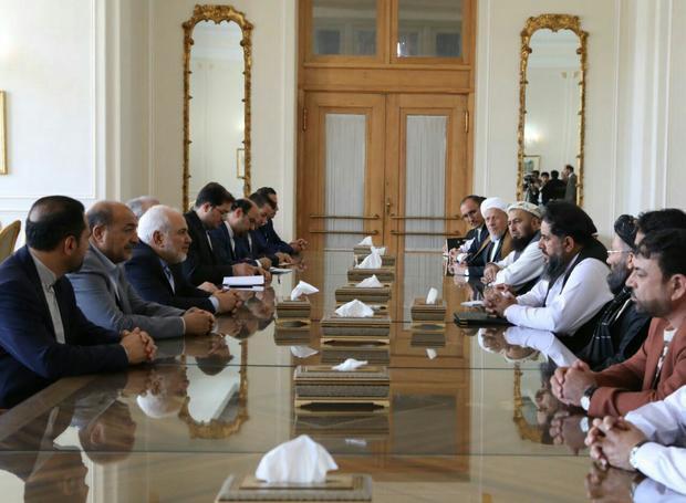 دیدار رییس سنای افغانستان با ظریف