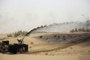توقف مالچپاشی نفتی در یکی دیگر از مناطق دشتآزادگان
