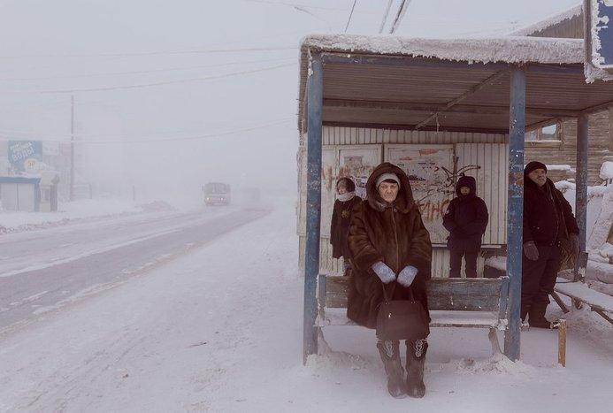 سردترین شهر جهان با دمای منفی 40 درجه+ تصاویر