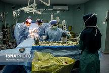 خارج کردن سنگ ۱۴ سانتیمتری از کلیه یک بیمار
