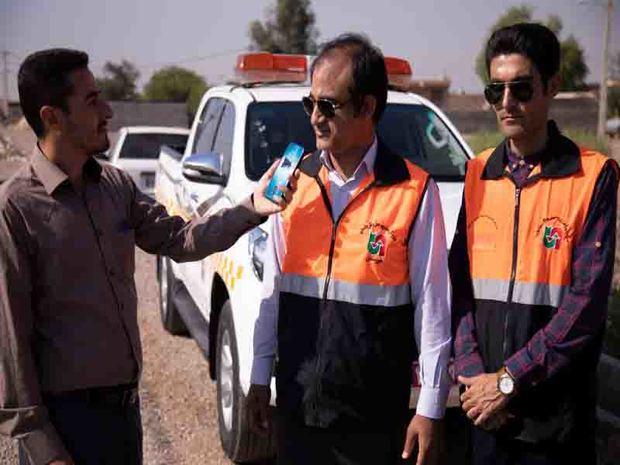 سیل 430میلیارد ریال به جاده های روستایی شعیبیه شوشترخسارت زد