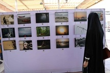 راه اندازی نمایشگاه عکس نگاه در مجموعه بازیل اهواز  عکس