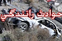 کشته شدن راننده بر اثر واژگونی پژو در پلدختر