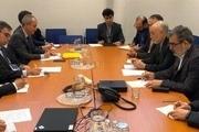 دیدار رئیس سازمان انرژی اتمی ایران با همتای فرانسوی اش