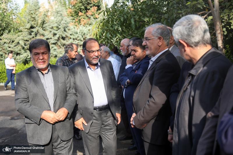 مراسم تشییع پیکر سید شمس الدین وهابی