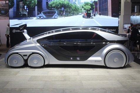 این خودروی رباتیک خرید می کند و به سوالات هم پاسخ می دهد!