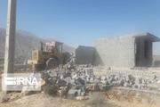 رفع تصرف از ۲ هزار مترمربع اراضی ملی در شهرستان جهرم