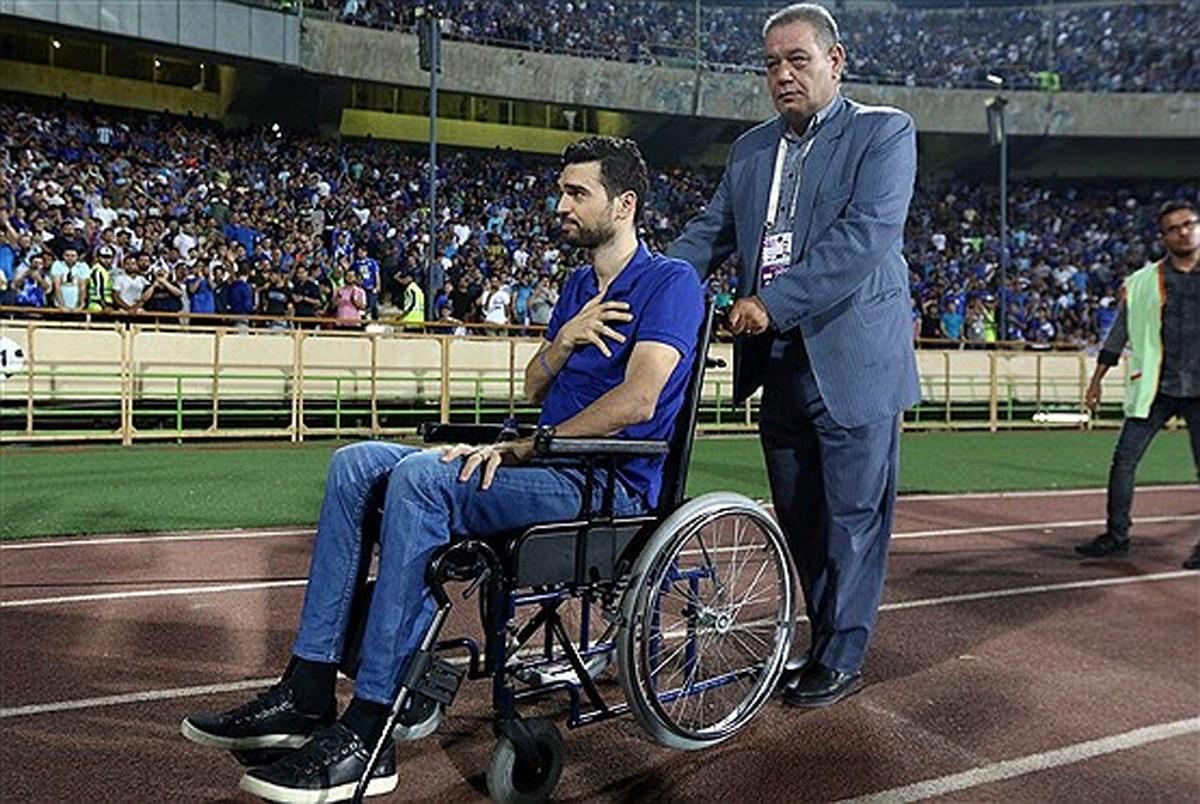 پادوانی: زندگی من به یک صندلی چرخدار محدود شد
