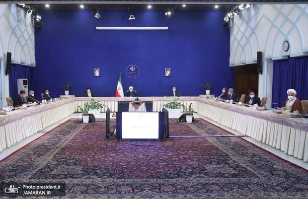 نخستین جلسه شورای عالی هماهنگی اقتصادی سران قوا در سال 1400 برگزار شد