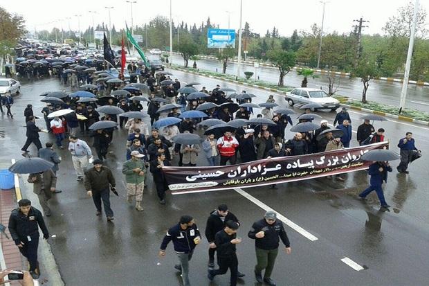 مردم آستارا برای پیاده روی اربعین حسینی آماده می شوند