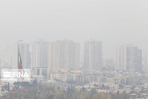 آلایندههای جوی در تهران افزایش مییابد